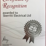 Niceic Cert Photo